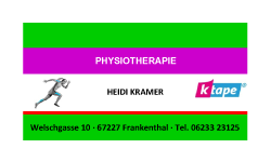 Physiotherapie Kramer